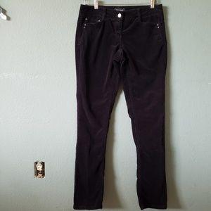 WHBM TALL Black Corduroy Pants